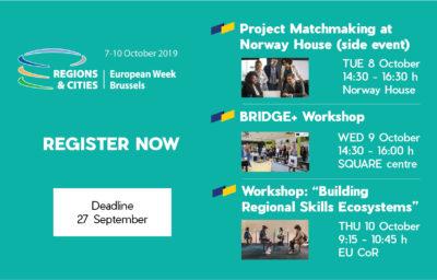 European Week of Regions & Cities 2019