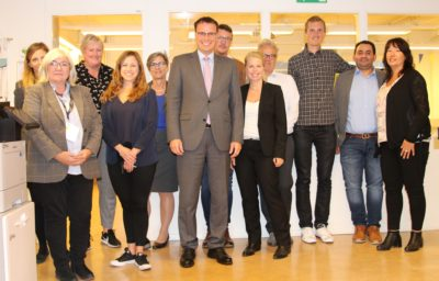 Baden Württemberg's State Secretary Visits Västra Götaland's Education Projects
