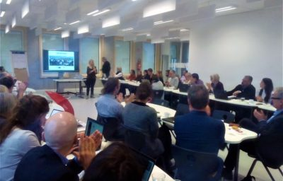 Experiences and exchange: FIER 4th Partner Meeting in Brussels