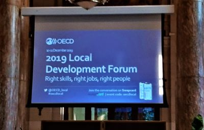 Right Skills, Right Jobs, Right Places: EARLALL at OECD Local Development Forum 2019
