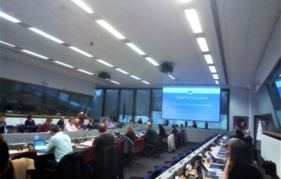 EU Digital Education Stakeholder Workshop took place in Brussels