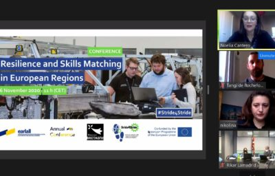 Stride4Stride kick-off meeting and conference: skills matching in challenging times